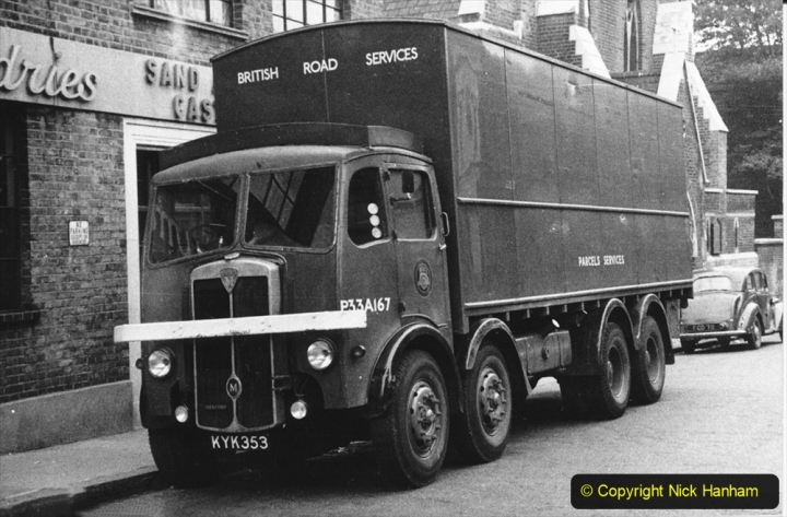 BRS Maudslay Lorries 1950s & 1960s. (30) 001