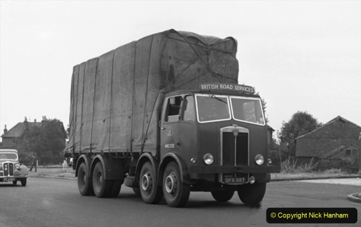 BRS Maudslay Lorries 1950s & 1960s. (4) 001