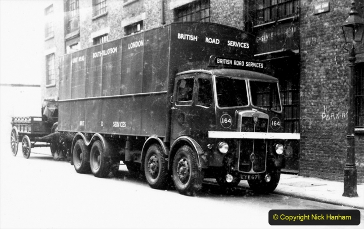 BRS Maudslay Lorries 1950s & 1960s. (5) 001
