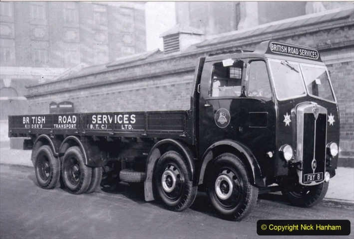 BRS Maudslay Lorries 1950s & 1960s. (8) 001