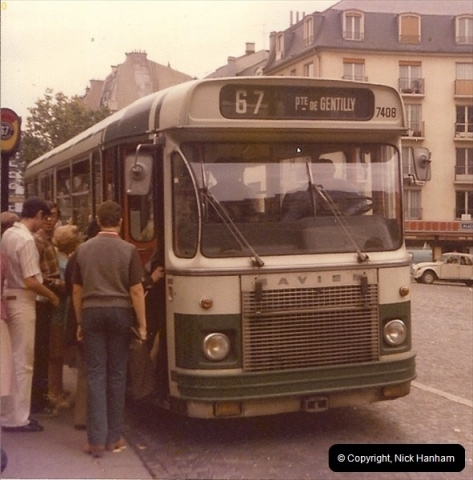 1979 Summer.  Paris, Francee.  (1)015