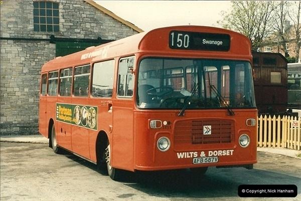 1985-05 20 Swanage, Dorset.  (2)068