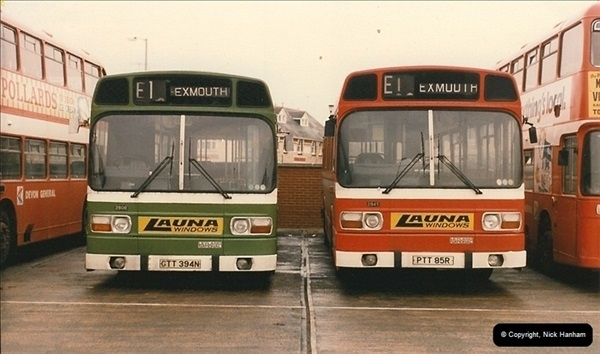 1985-11-14 Exmouth, Devon.  (2)077