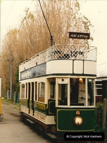 1986-10-31 The Seaton Tramway, Seaton, Dorset.  (2)094