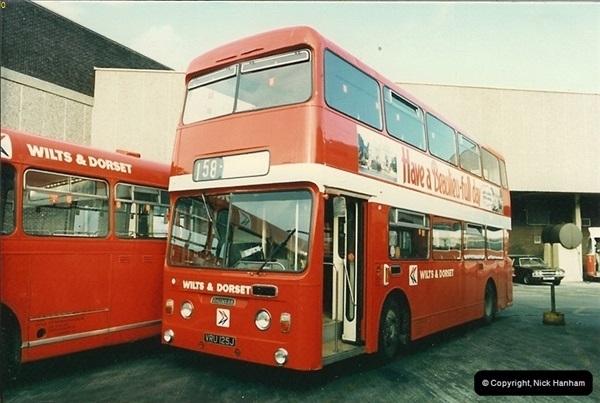 1986-11-22 Poole Depot, Poole, Dorset.  (10)107