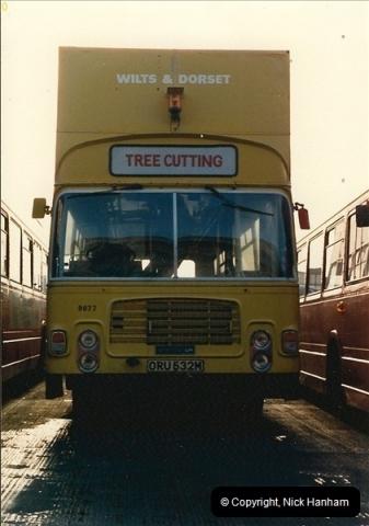 1986-11-22 Poole Depot, Poole, Dorset.  (1)098