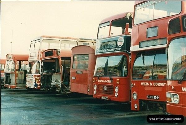 1986-11-22 Poole Depot, Poole, Dorset.  (5)102