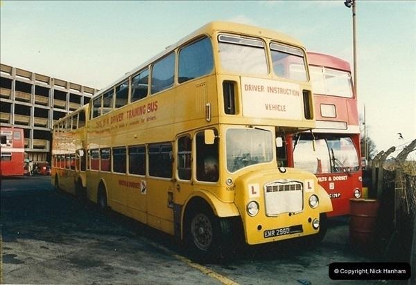 1986-11-22 Poole Depot, Poole, Dorset.  (7)104