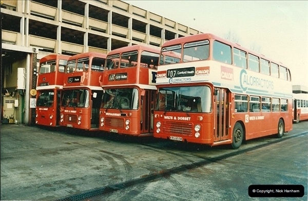 1986-11-22 Poole Depot, Poole, Dorset.  (8)105