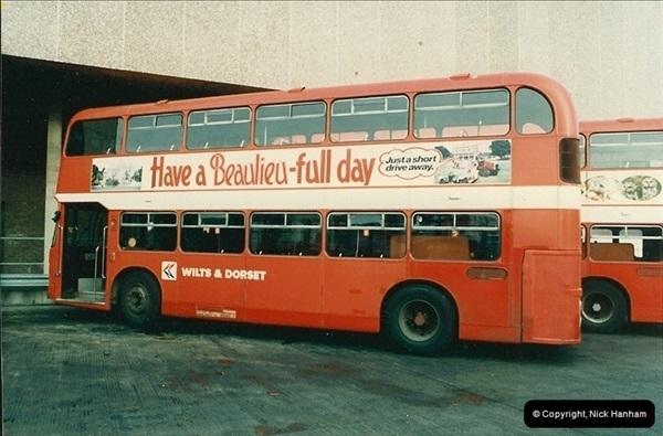 1986-11-22 Poole Depot, Poole, Dorset.  (9)106