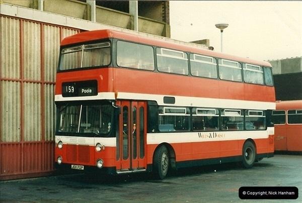 1988-01-11 Poole Depot, Poole, Dorset.  (1)127