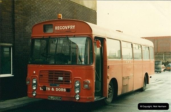 1988-01-11 Poole Depot, Poole, Dorset.  (2)128