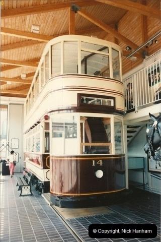 1992-08. Swansea Museum. A Mumbles Tram.175
