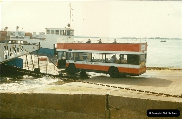 1993-08-22 The sandbanks Chain Ferry, Poole, Dorset.180