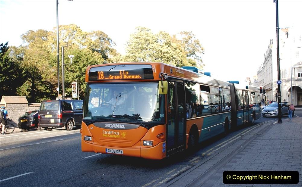 Cardiff Buses September 2019