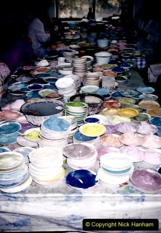China 1993 April. (134) Cloisonne Factory. 134