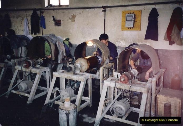 China 1993 April. (136) Cloisonne Factory. 136