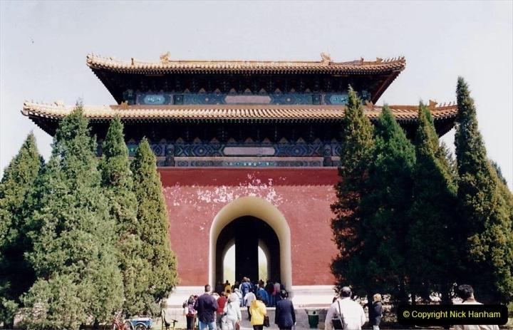 China 1993 April. (144) The Mong Tombs. 144
