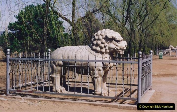 China 1993 April. (146) The Mong Tombs. 146