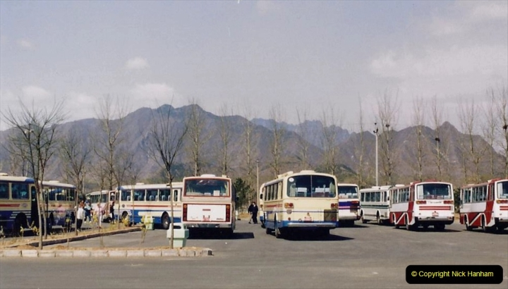China 1993 April. (154) The Mong Tombs. 154