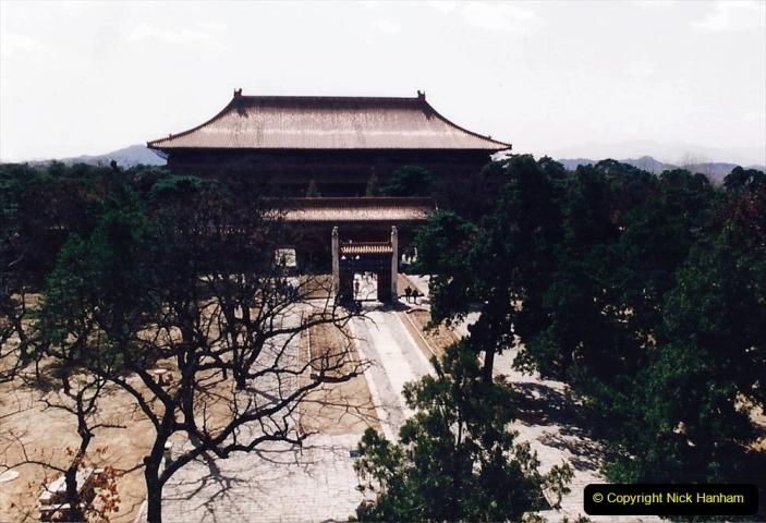 China 1993 April. (160) The Mong Tombs. 160