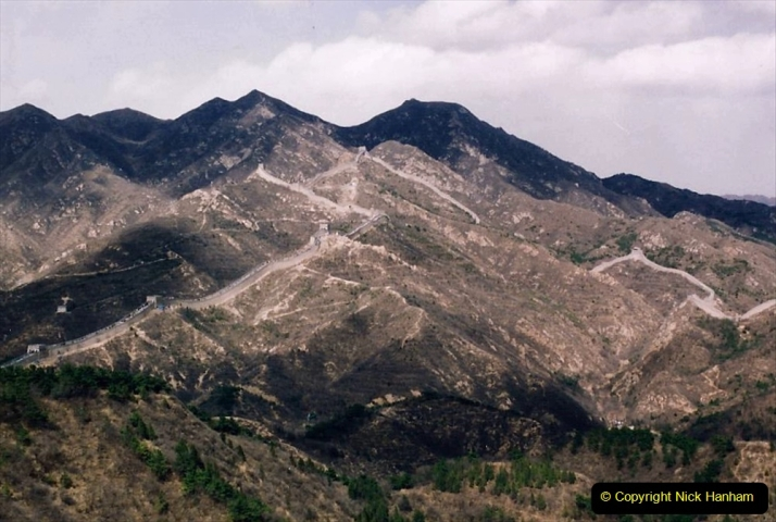 China 1993 April. (170) The Great Wall. 170