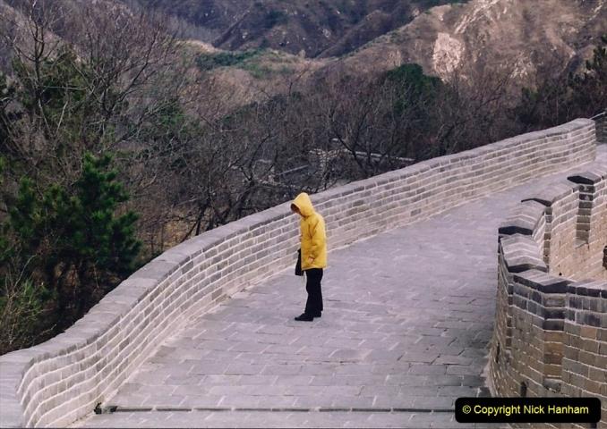 China 1993 April. (179) The Great Wall. 179