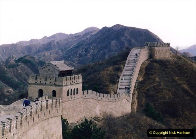 China 1993 April. (180) The Great Wall. 180