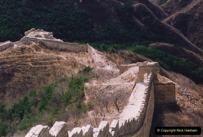 China 1993 April. (181) The Great Wall. 181