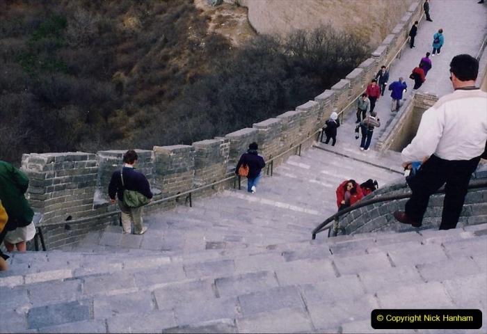 China 1993 April. (191) The Great Wall. 191
