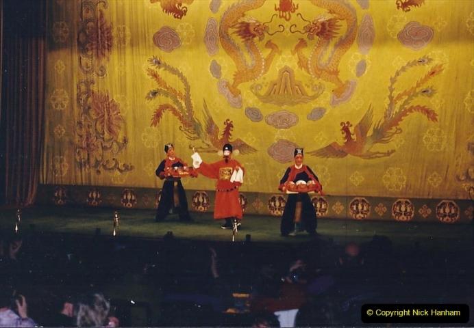 China 1993 April. (202) A night at the Beijing Opera. 202