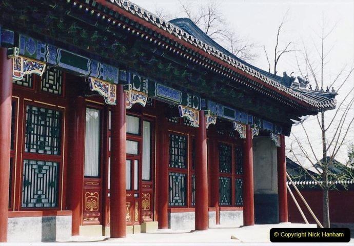 China 1993 April. (212) The Summer Palace. 212