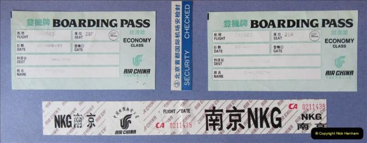 China 1993 April. (296) Leaving Beijing for Nanjing. 296