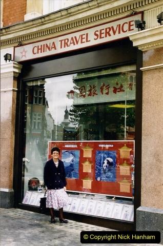 China 1993 April. (4) China Travel Service in London.004