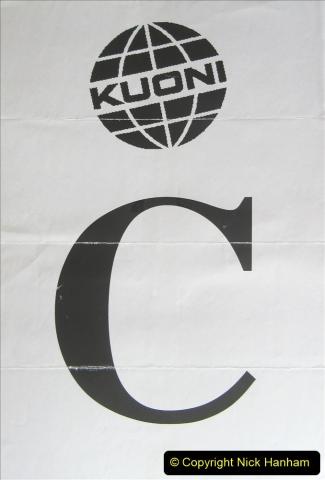 China 1993 April. (52) Our tour coach 'C'052