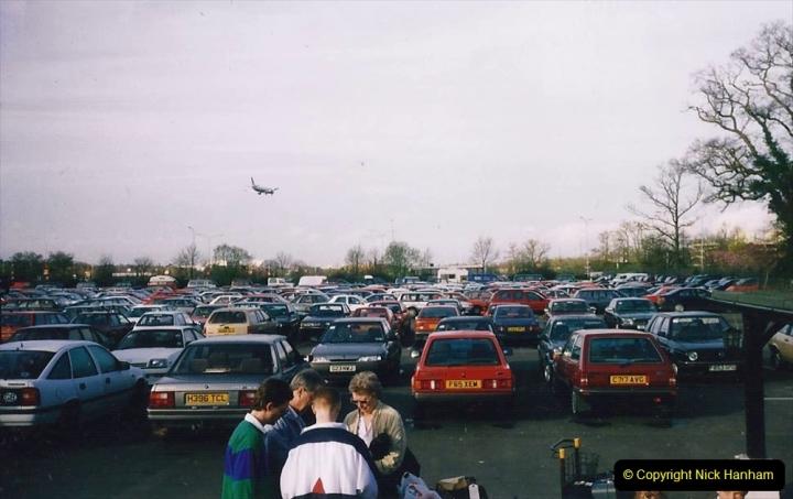 China 1993 April. (6) To Heathrow.   006