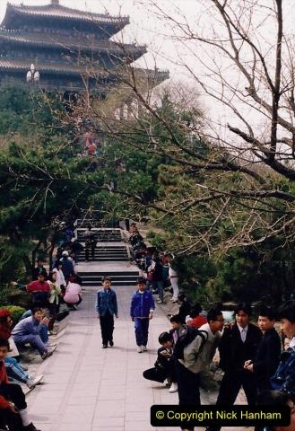 China 1993 April. (77) in Jingshan Park. 077