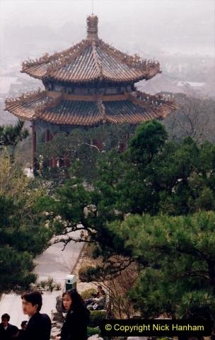 China 1993 April. (83) in Jingshan Park. 083
