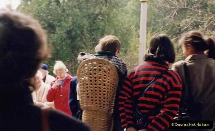China 1993 April. (88) in Jingshan Park. 088