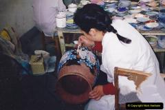 China 1993 April. (133) Cloisonne Factory. 133