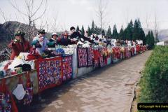 China 1993 April. (153) The Mong Tombs. 153