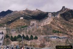 China 1993 April. (167) The Great Wall. 167