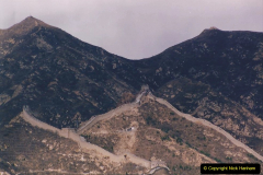 China 1993 April. (168) The Great Wall. 168
