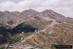 China 1993 April. (173) The Great Wall. 173