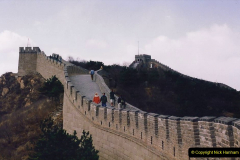China 1993 April. (174) The Great Wall. 174