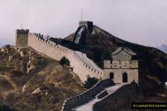 China 1993 April. (175) The Great Wall. 175