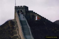 China 1993 April. (176) The Great Wall. 176