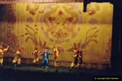 China 1993 April. (205) A night at the Beijing Opera. 205