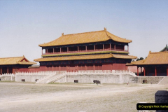 China 1993 April. (240) The Imperial Palace of Forbidden City. 240