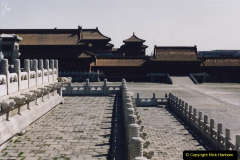 China 1993 April. (241) The Imperial Palace of Forbidden City. 241